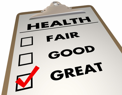 Health Checkup Evaluation Score Checklist 3d Illustration